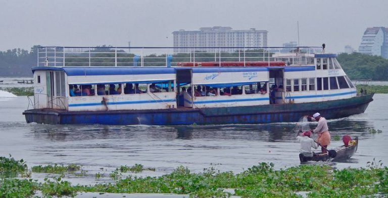 Ferry for places to visit in Kochi