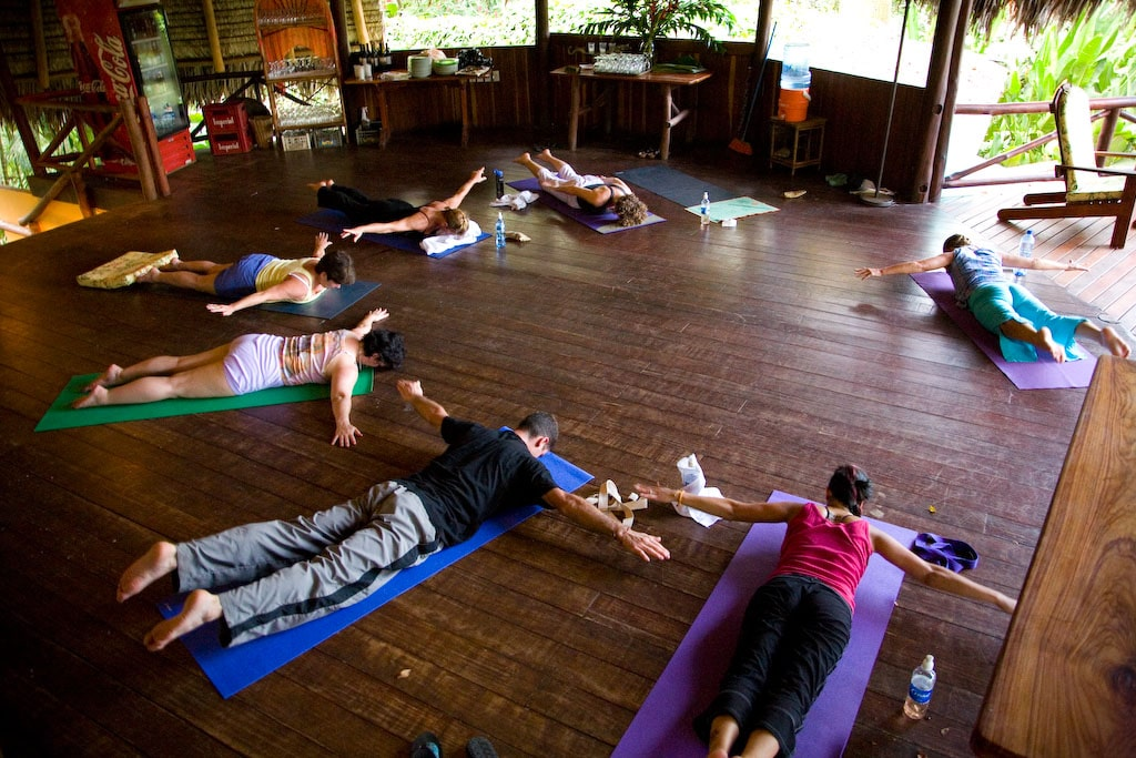 Yoga class as places to visit in Kochi