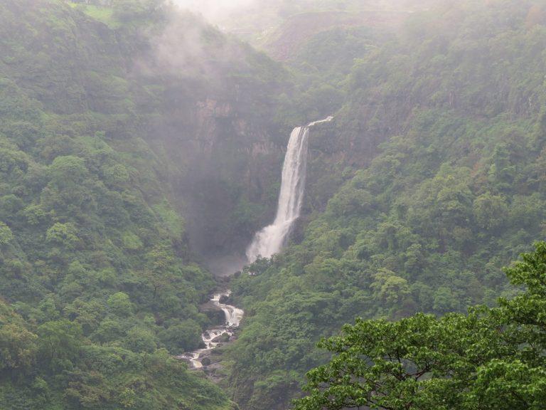 Malshej ghat waterfall