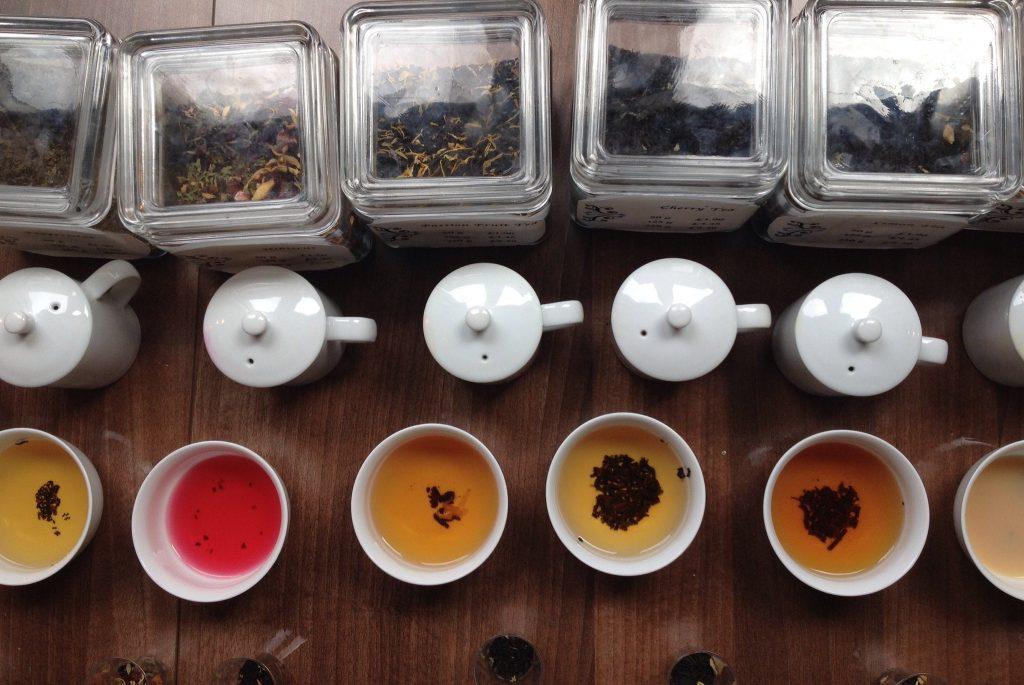 Tea tasting in Munnar Kerala