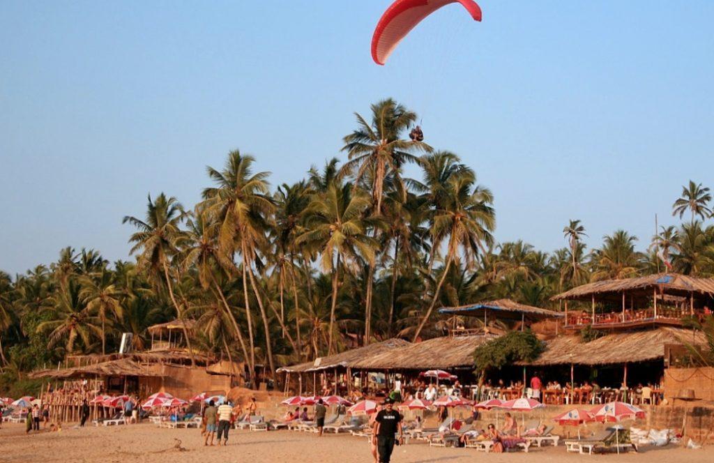 curlies North Goa beach shacks