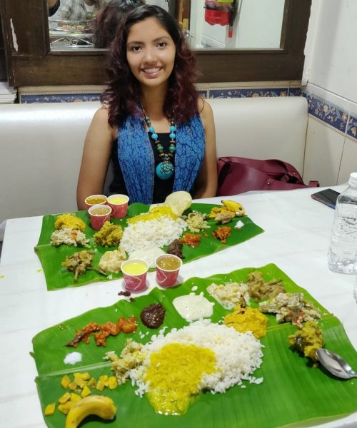 Kochi sadya lunch