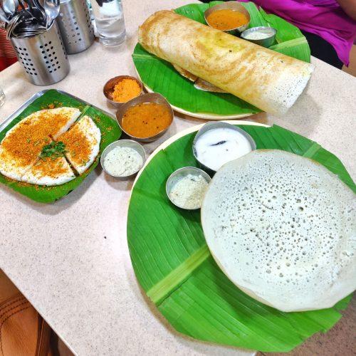 Veg lunch in Munnar